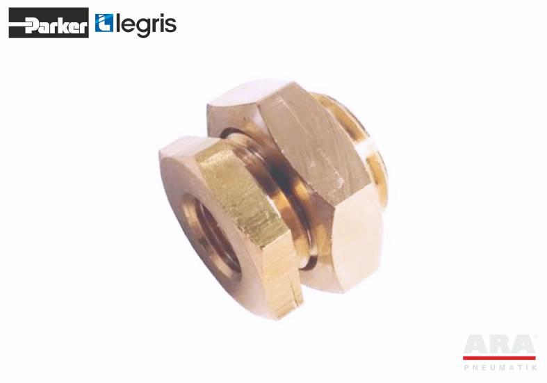 Wymiary złącza gwintowanego mosiężnego Parker Legris 0121