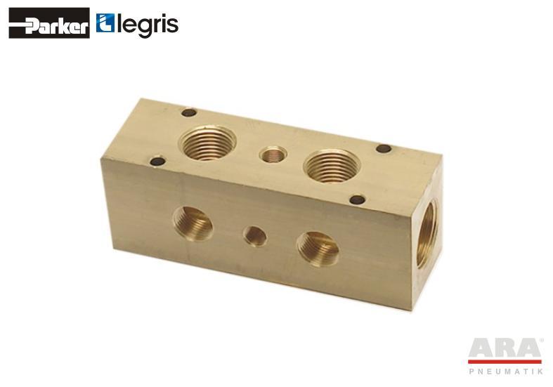 Kolektor mosiężny Parker Legris 0135