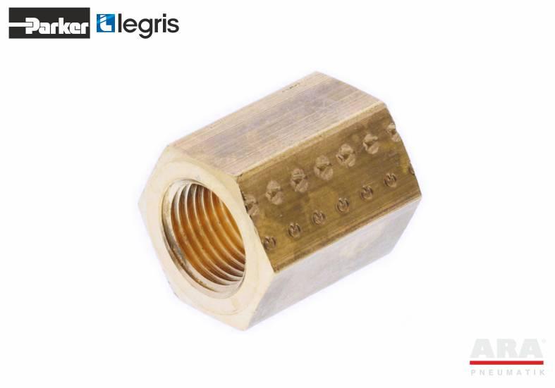 Złącze gwintowane mosiężne Parker Legris 0155