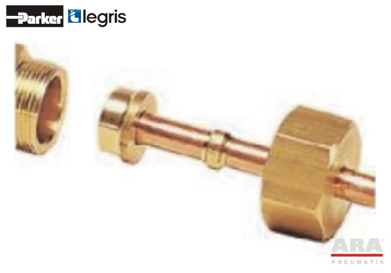 Reduktor mosiężny Parker Legris 0166