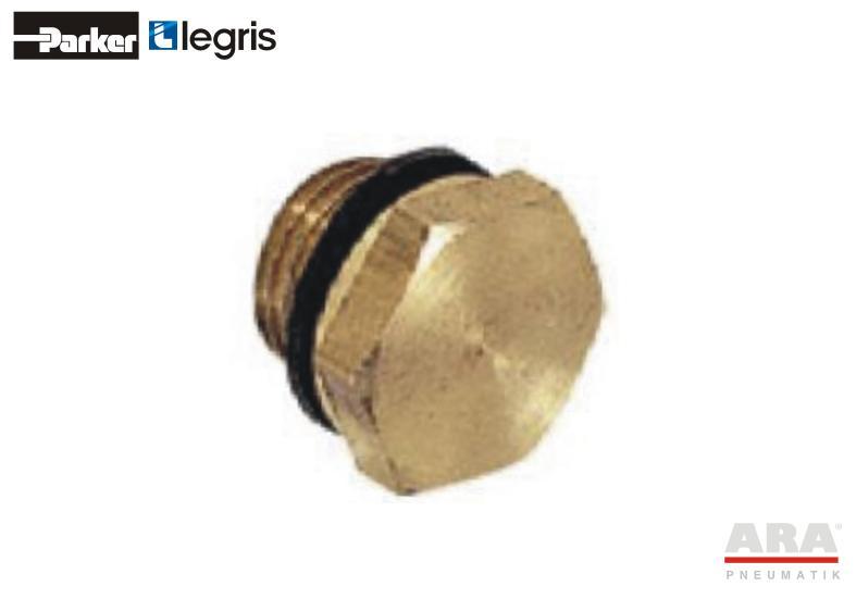 Złącze gwintowane mosiężne Parker Legris 0220