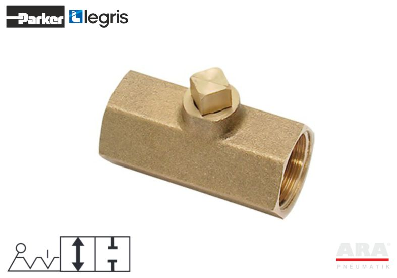 Zawór pneumatyczny kulowy Parker Legris 0497