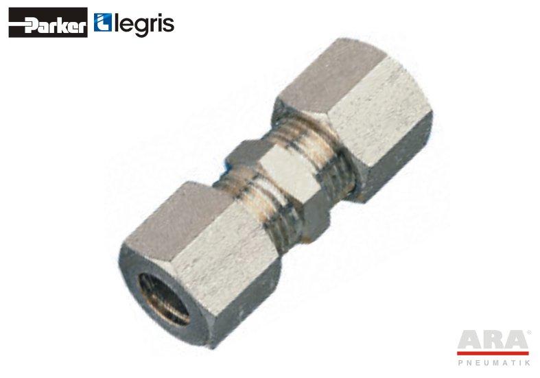 Złącze pneumatyczne nierdzewne 316L zaciskane - Parker Legris 1806