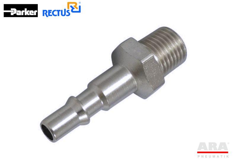 Szybkozłączka pneumatyczna Parker Rectus 18SFAW