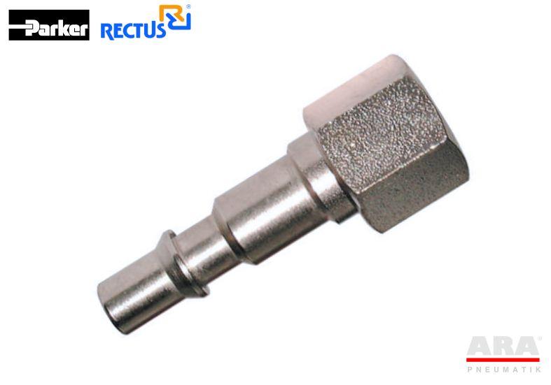 Szybkozłączka pneumatyczna Parker Rectus 18SFIW