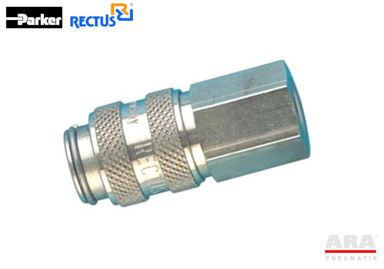Szybkozłącze pneumatyczne Parker Rectus 21KAIW