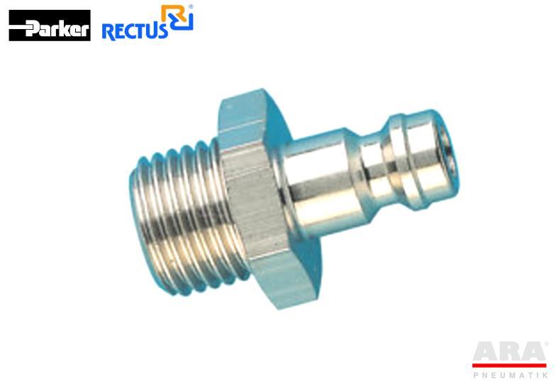 Szybkozłącze pneumatyczne Parker Rectus 21SFAW