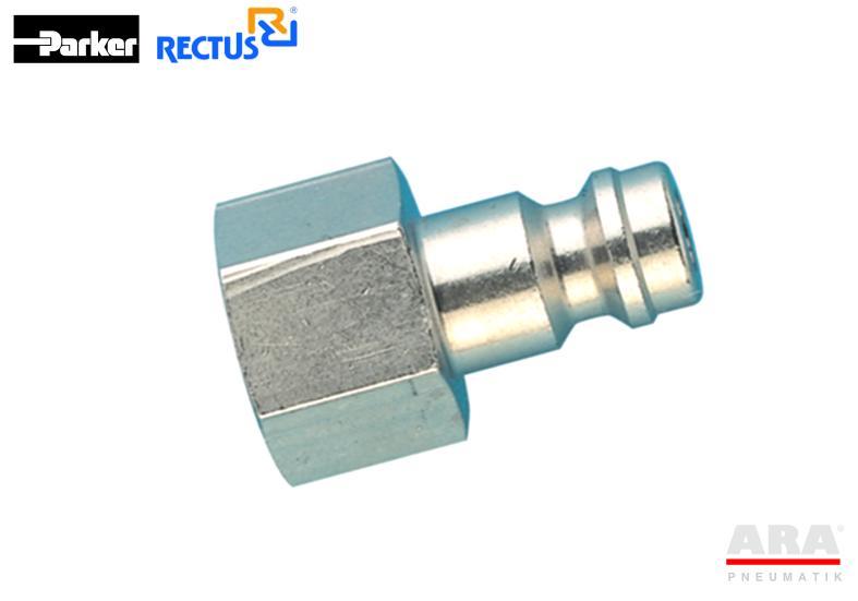 Szybkozłącze pneumatyczne Parker Rectus 21SFIW