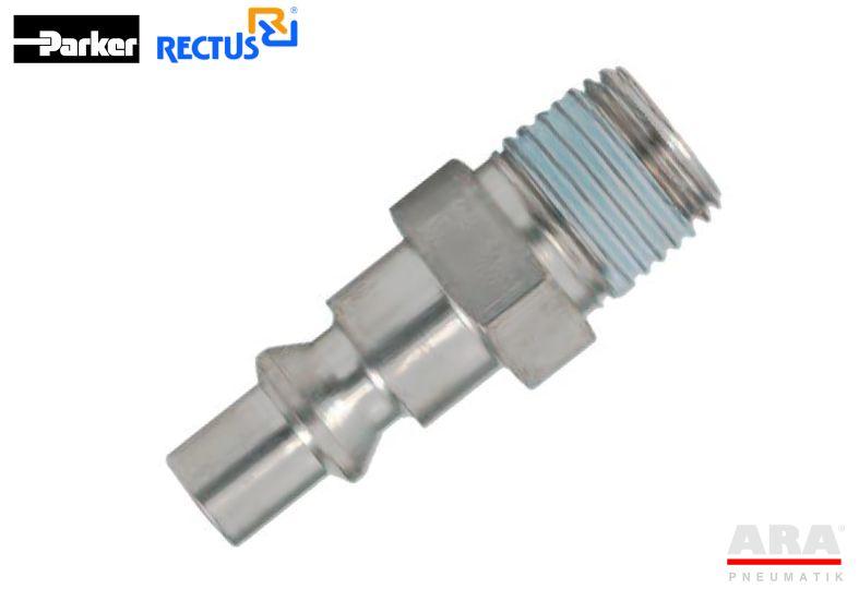 Szybkozłącze pneumatyczne Parker Rectus serii 22SF