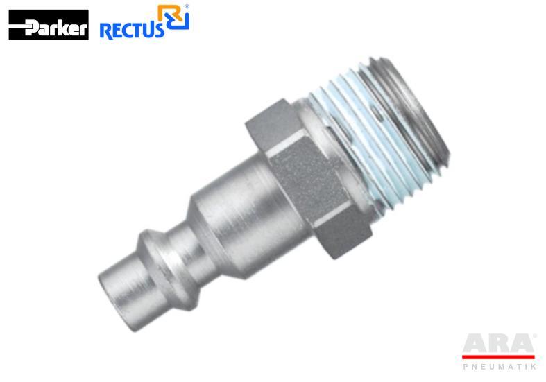 Szybkozłączka pneumatyczna Parker Rectus 23SFAW