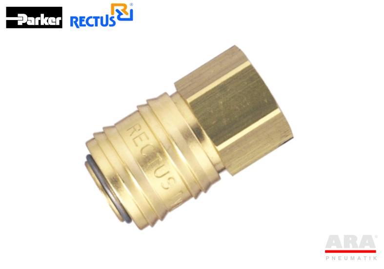 Szybkozłączka pneumatyczna Parker Rectus 24KAIW