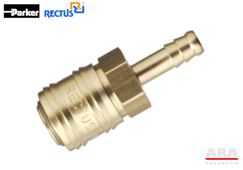 Szybkozłączka pneumatyczna Parker Rectus 24KATF