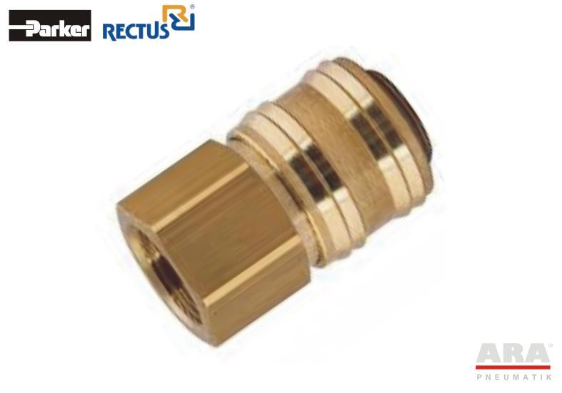 Szybkozłączka pneumatyczna Parker Rectus 26KAIW