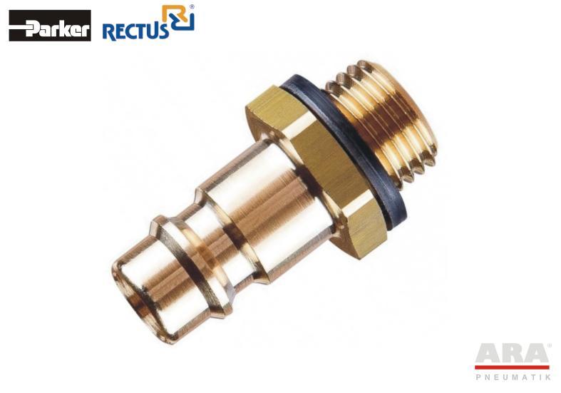 Szybkozłączka pneumatyczna Parker Rectus 26SFAW