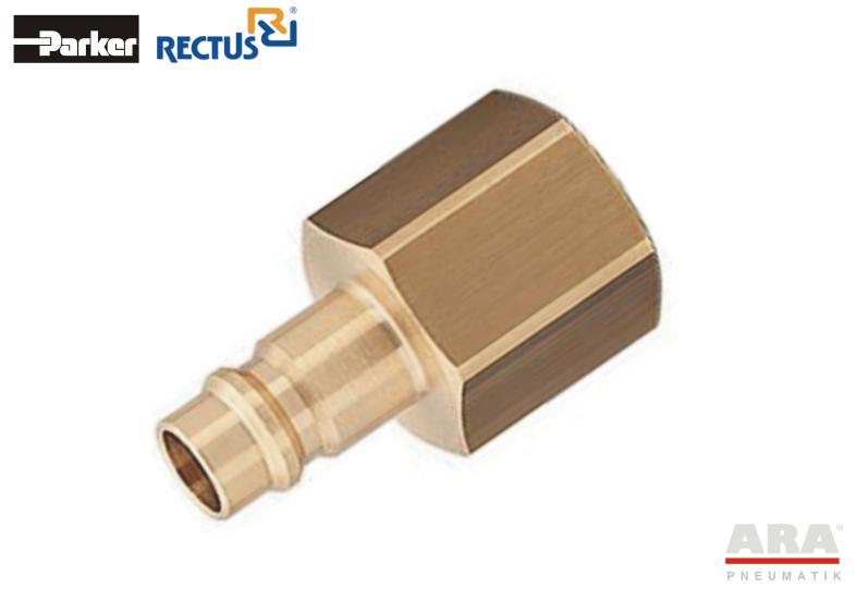 Szybkozłączka pneumatyczna Parker Rectus 26SFIW