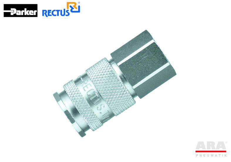 Szybkozłączka pneumatyczna Parker Rectus 27KAIW