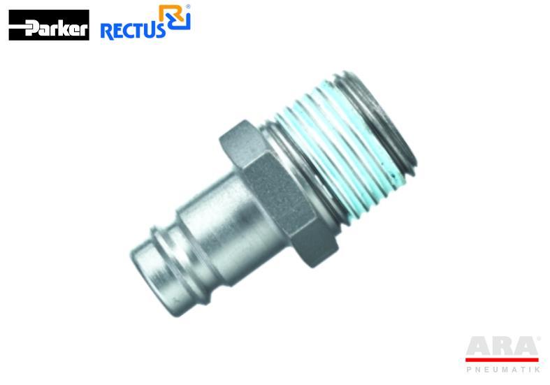 Szybkozłączka pneumatyczna Parker Rectus 27SFAK