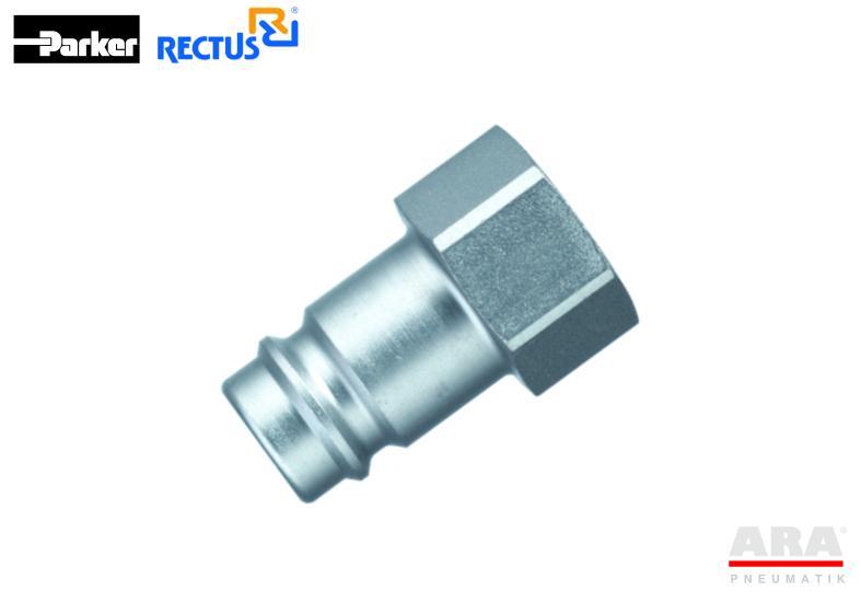 Szybkozłączka pneumatyczna Parker Rectus 27SFIW