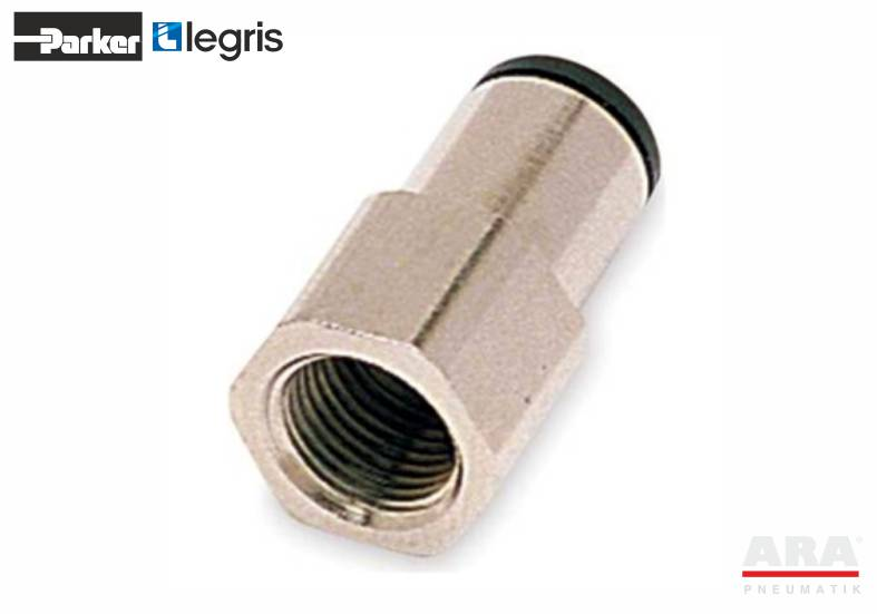 Złączka pneumatyczna prosta z gwintem Parker Legris LF3000 3114