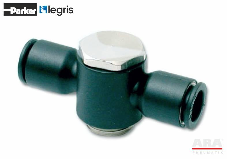 Złączka pneumatyczna T ze śrubą drążoną Parker Legris LF3000 3119