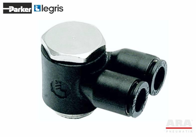Złączka pneumatyczna Y ze śrubą drążoną Parker Legris LF3000 3149