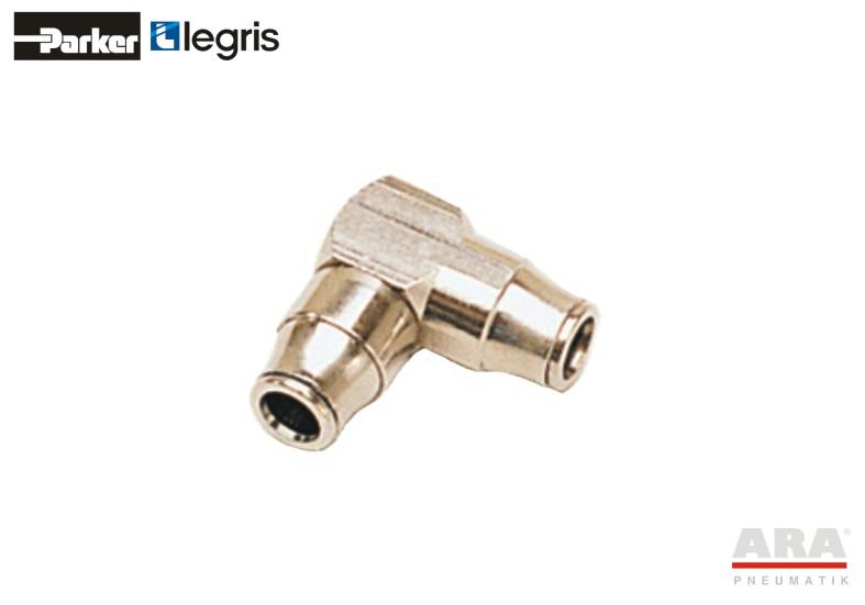 Kolanko | przelotka pneumatyczna kątowa Parker Legris LF3200 3202