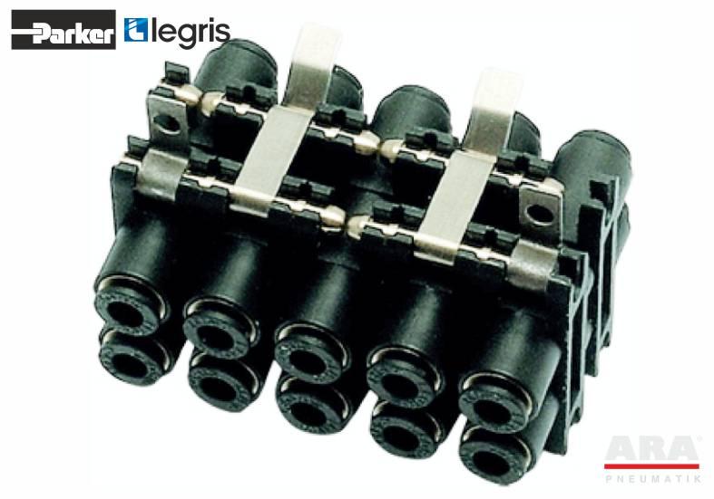 3300 - LF3000 - kolektor modułowy plug-in - Parker Legris