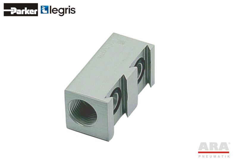 Kolektor aluminiowy podwójny Parker Legris 3302