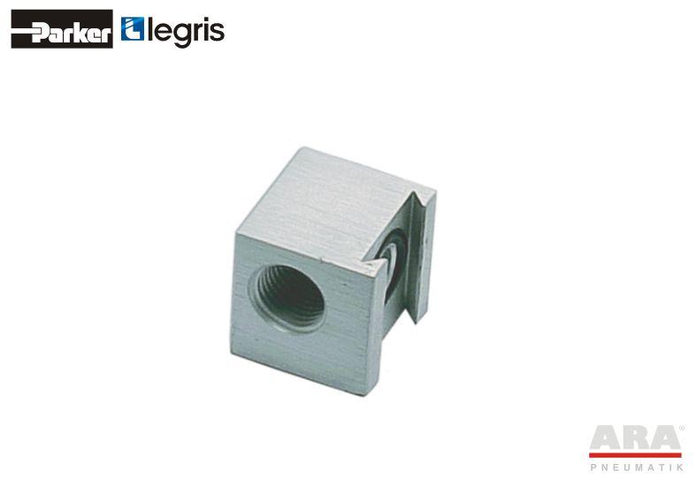 Kolektor aluminiowy pojedynczy Parker Legris 3302
