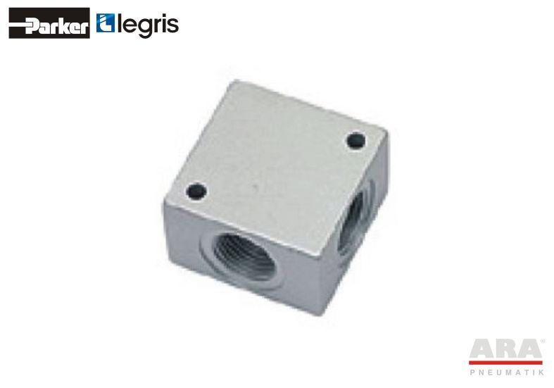 Kolektor aluminiowy Parker Legris 3312