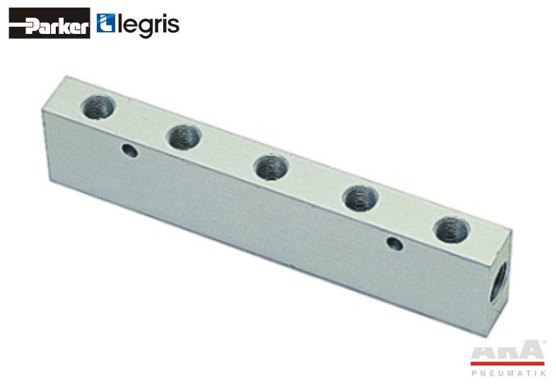 Kolektor aluminiowy Parker Legris 3313
