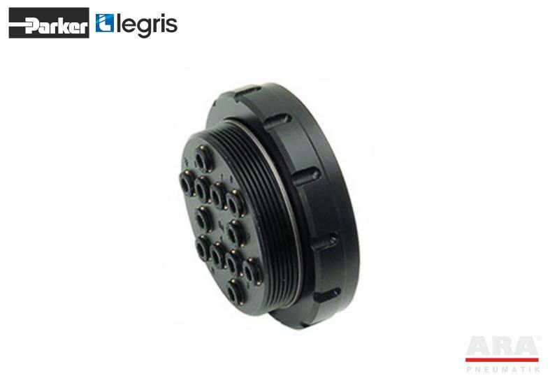 3321 - LF3000 - multigniazdo do kolektora plug-in - Parker Legris