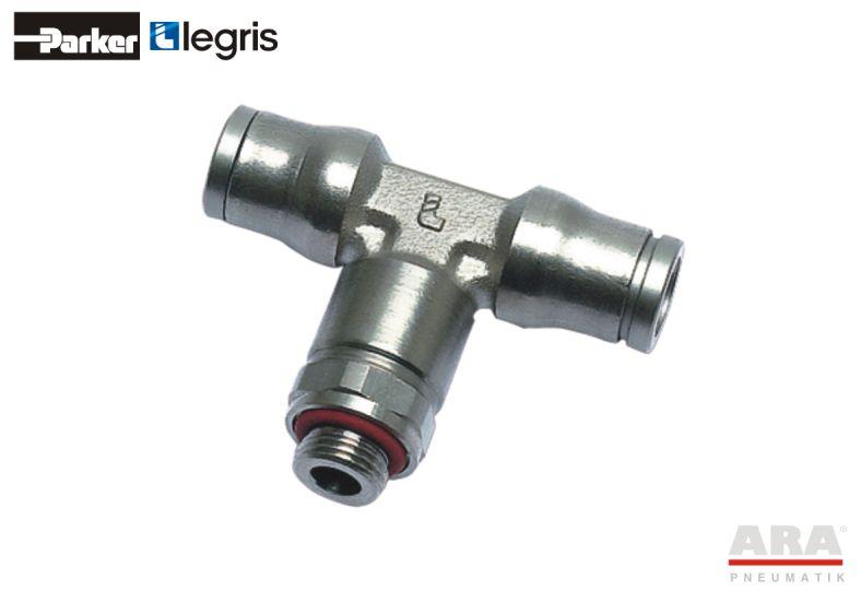 Złączka pneumatyczna T Parker Legris LF3600 3698