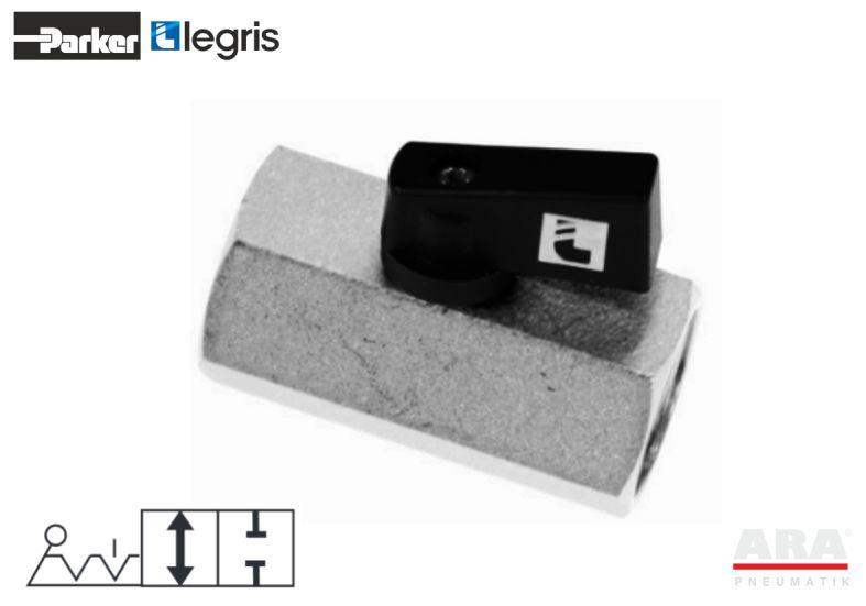 Zawory pneumatyczne kulowe Parker Legris 4992