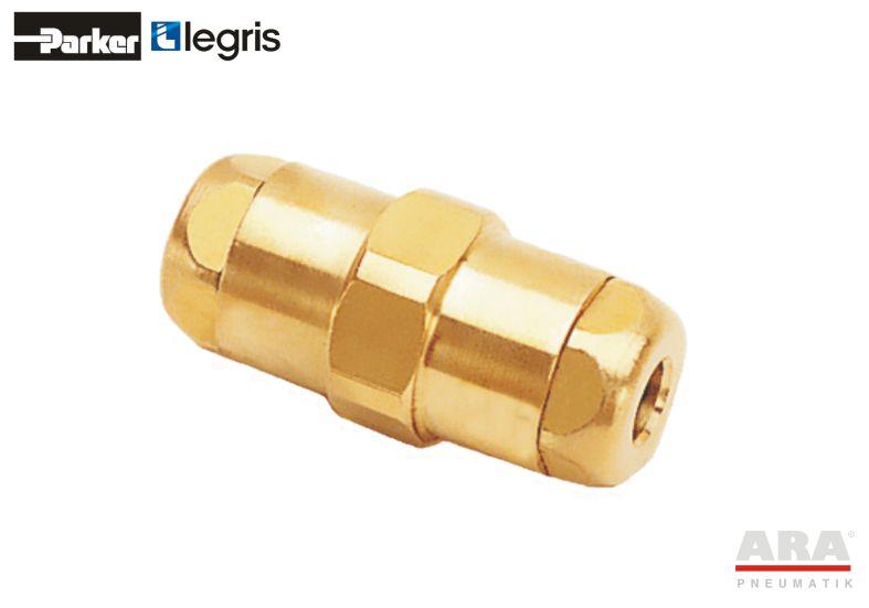 Przelotka pneumatyczna mosiężna LF6100 Parker Legris 6106