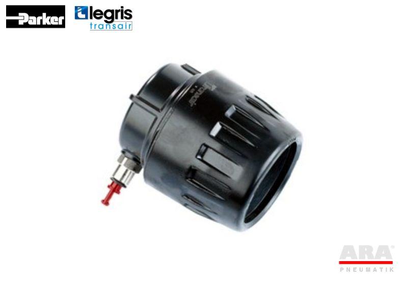 Zaślepka z odpowietrzeniem instalacji pneumatycznej Legris Transair 6625