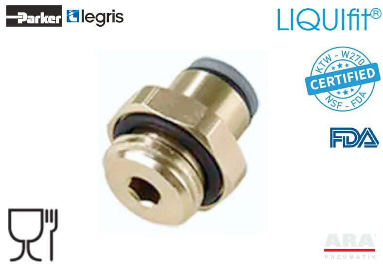 Złączka pneumatyczna prosta LIQUIfit+ 6901