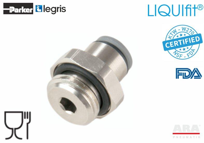 Złączka pneumatyczna prosta LIQUIfit+ 6911