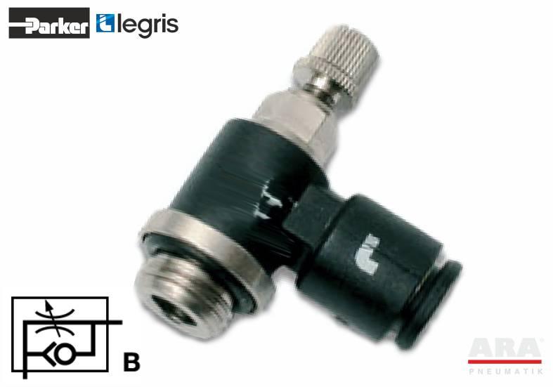 7669 - zawór pneumatyczny dławiąco zwrotny - Parker Legris