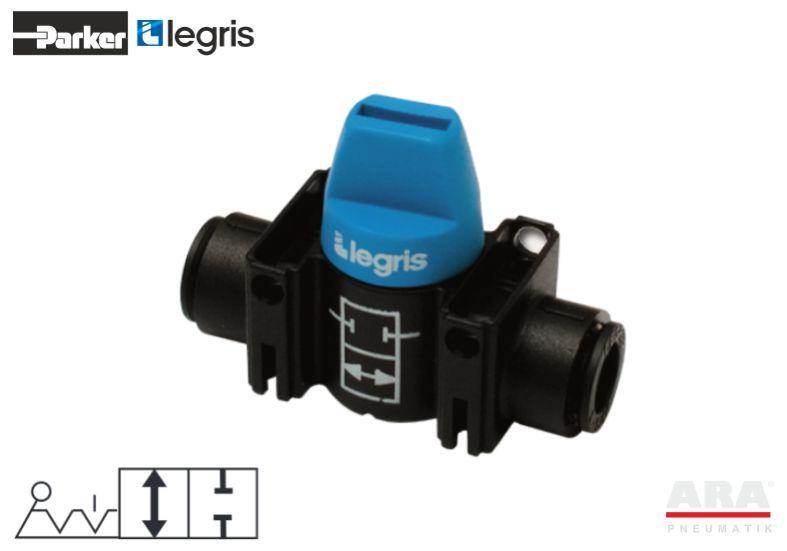 Zawór kulowy miniaturowy Parker Legris 7910