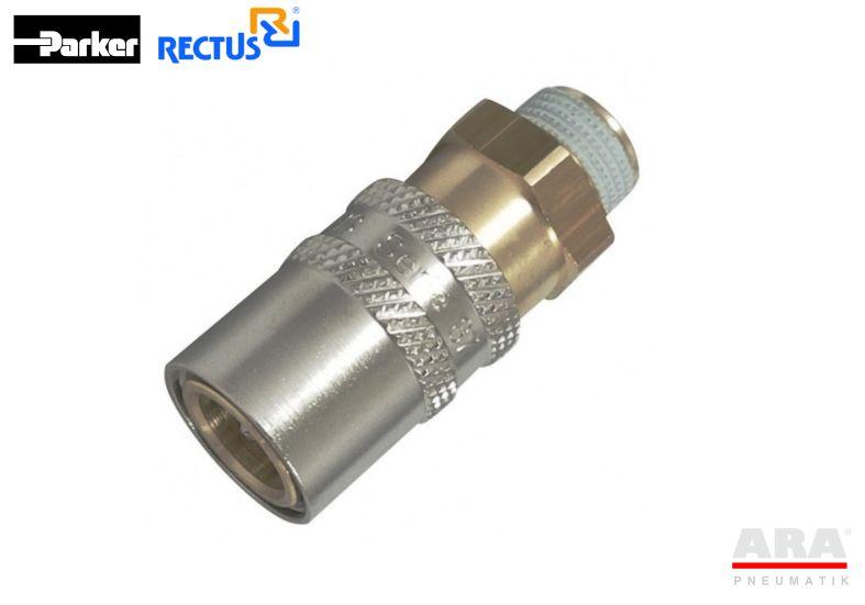 Szybkozłącze Rectus do form wtryskowych serii 86, 87 -- KBAW, KFAW