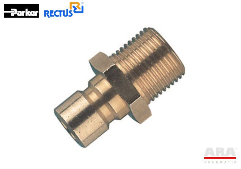 Szybkozłącze Rectus do form wtryskowych serii 86, 87, 88 -- SFAK, SBAK