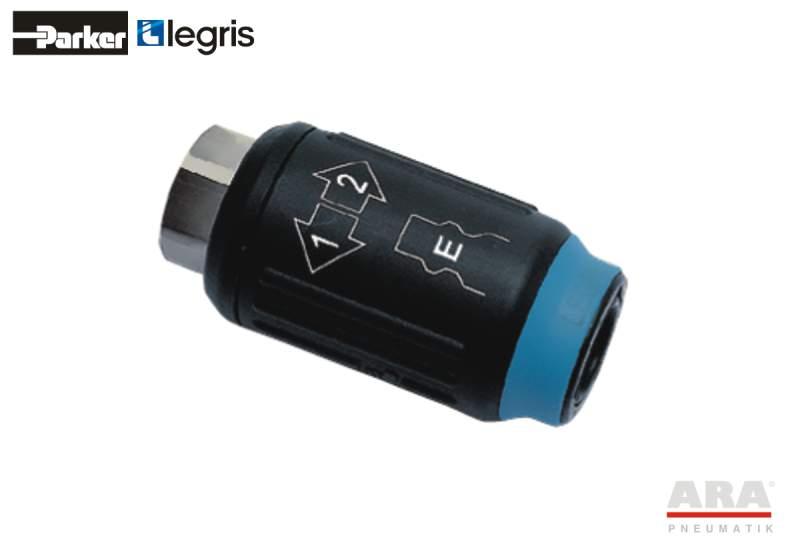Szybkozłącze bezpieczne - Gniazdo z gwintem wewn. BSPP profil EURO 9414E