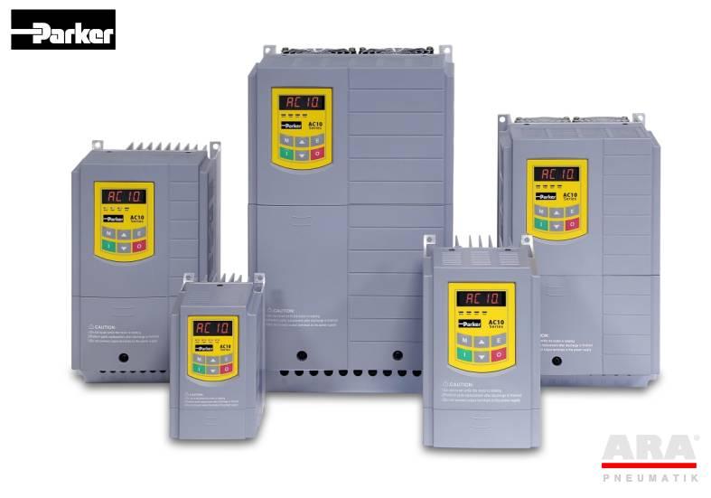 Przemienniki częstotliwości falowniki Parker AC10