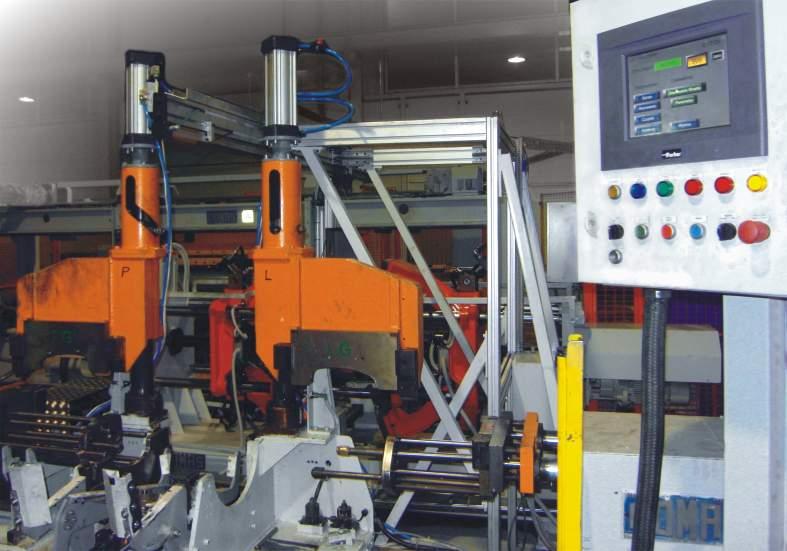 Aplikacja przebudowy linii produkcyjnych el. układu wydechowego dla Magneti Marelli