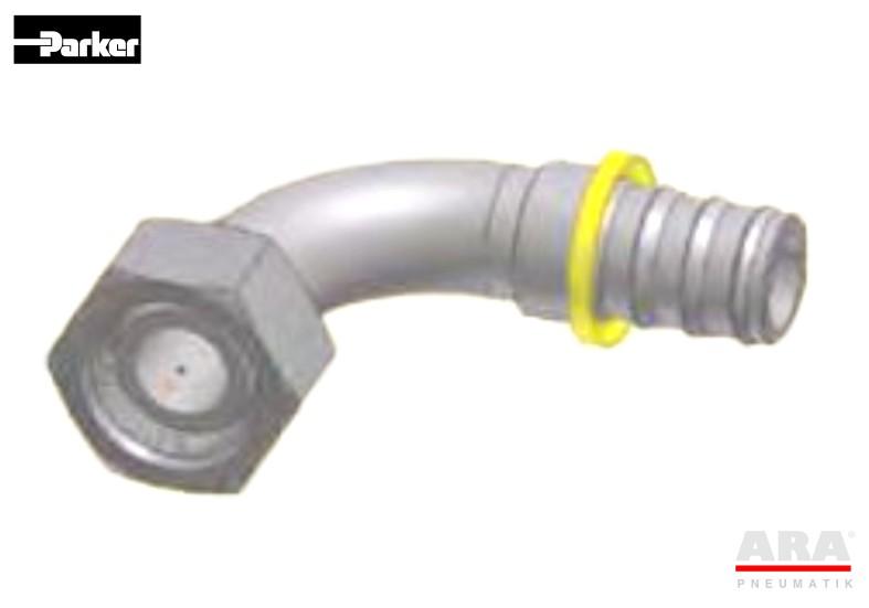 Złączka kątowa DIN Push-Lok Parker C5