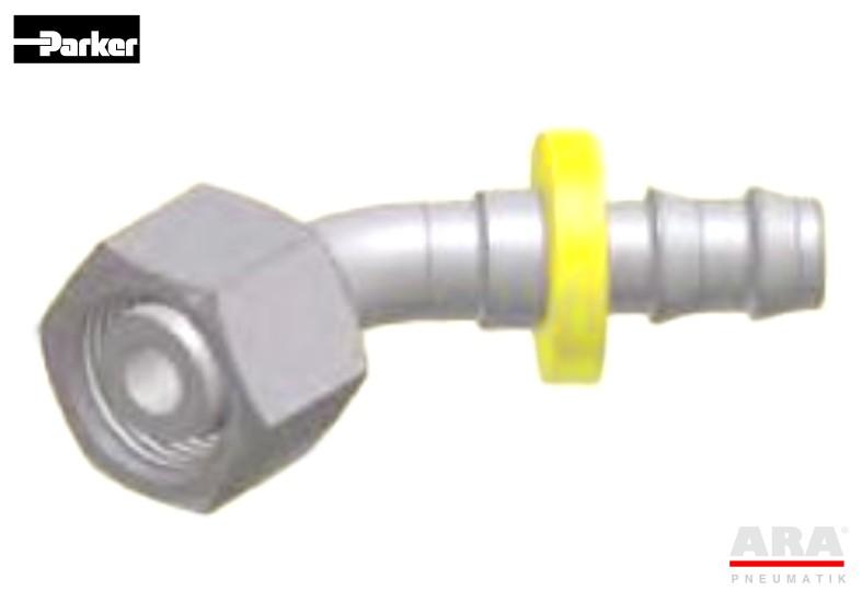 Złączka kątowa DIN Push-Lok Parker CE