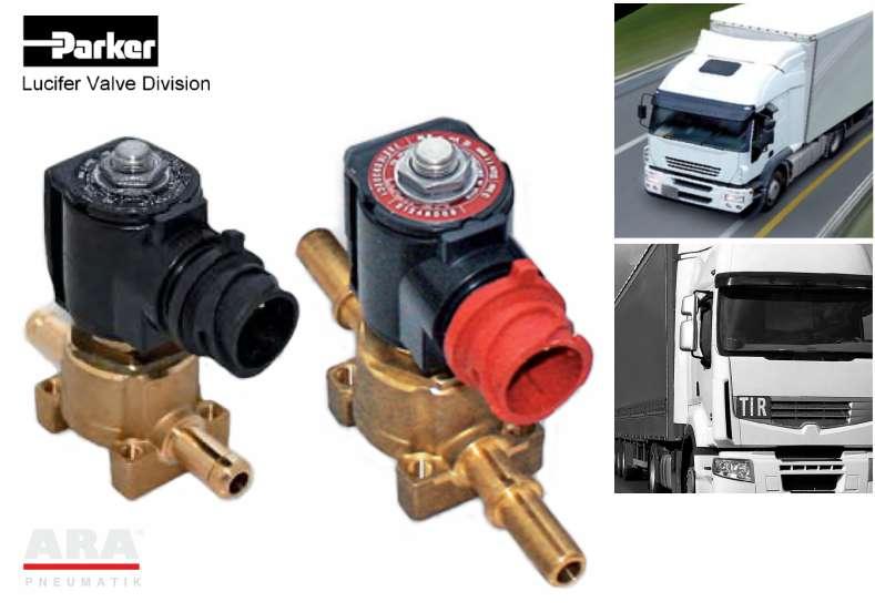 Elektrozawór do SCR w autobusach i ciężarówkach (mocznik) Parker Lucifer