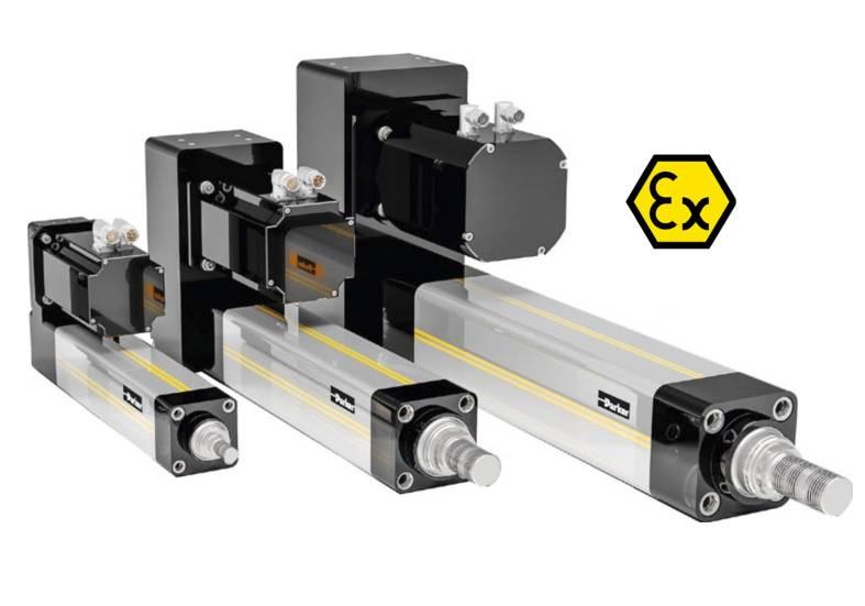 Napęd liniowy elektryczny Parker ETH ATEX