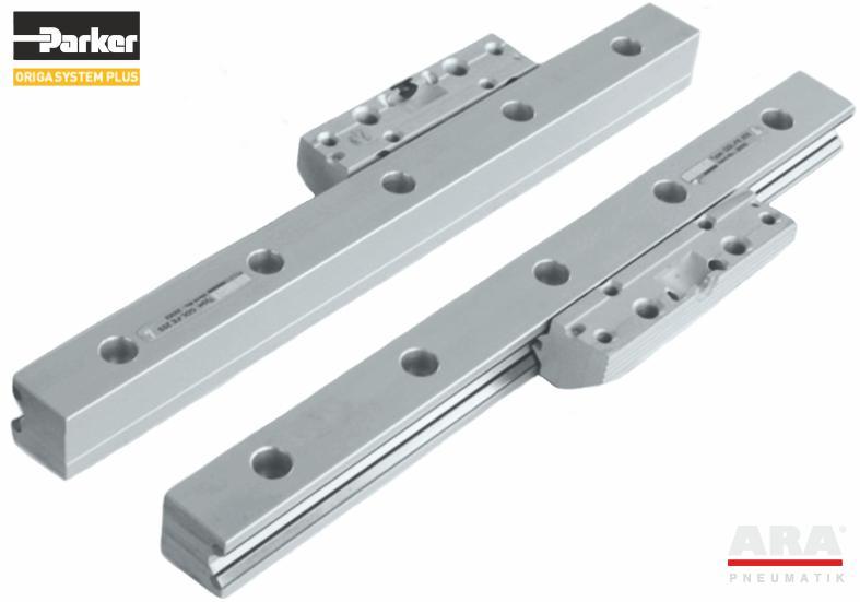 Prowadnica aluminiowa dzielona Hoerbiger | Parker Origa GDL-FE